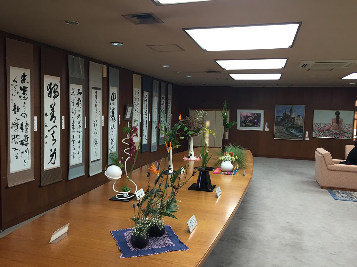 市長室ギャラリー開放日